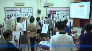 Trường Đào Tạo Công Nghệ May Và Thiết Kế Thời Trang Trường Quốc Thảo trên HTV7