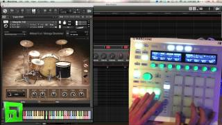 Abbey Road Vintage Drummer Review overview in Kontakt Maschine native instruments