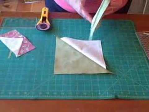 Flying Geese Blocks - YouTube : quilt in a day flying geese - Adamdwight.com