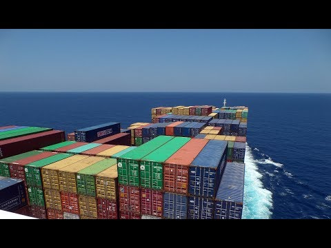 Living on a Container Ship