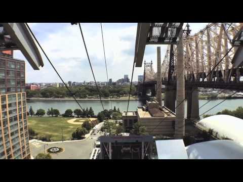 The Roosevelt Island Tramway - New York City 2015