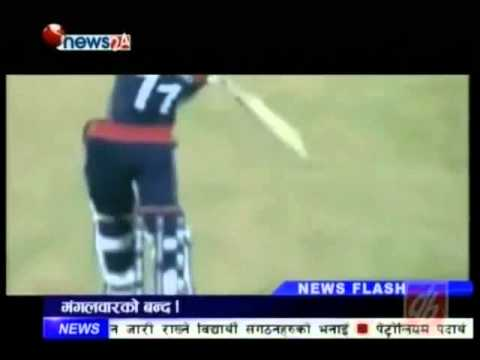 Nepali Cricket Team in Worldcup