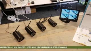 Epine Camerashop | Vegas Camerasysteem (Installatie)