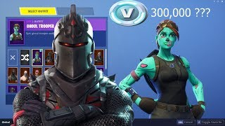 You won't believe how much I put in?! -All my skins in fortnite Battle Royale