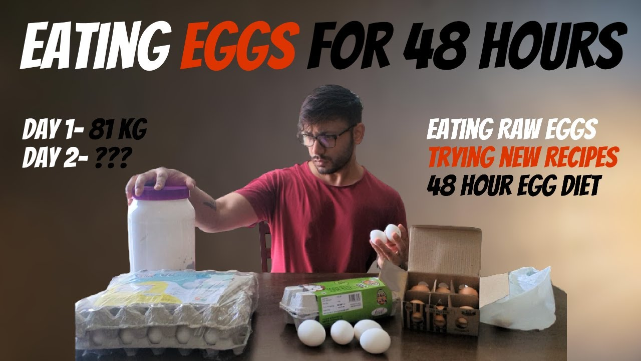 I Tried Only Eating EGGS For 48 HOURS || Is it actually WORTH IT? || My Experience with egg diet