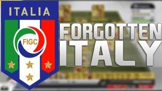 FIFA 13 - The Forgotten Italy Team!