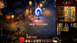 Diablo 3 Act 1 Decaying Crypt run - dual wielding Wave of Light build - MP10 - solo monk