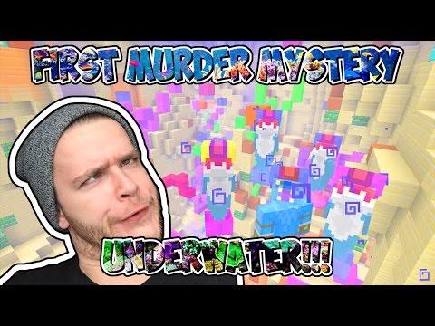 FIRST UNDERWATER MURDER MYSTERY!!! // I'M THE MURDERER!!! // MINECRAFT XBOX