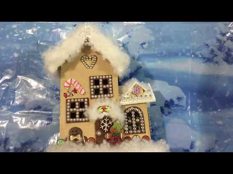 DIY Altered Dollar Store Gingerbread House