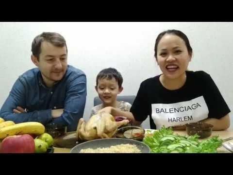 🇺🇦Cơm Việt Trên Đất Ukraina,, Gà Chạy Bộ //Cuộc Sống Ukraina //Vợ Việt Chồng Tây