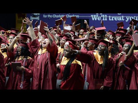Harding University High School graduation