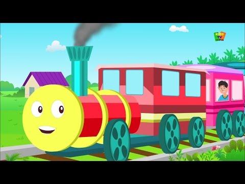 Chhuk Chhuk Karti Rail Chali Hindi | छुक छुक करती रेल चली | Kids Tv India | Hindi Nursery Rhymes
