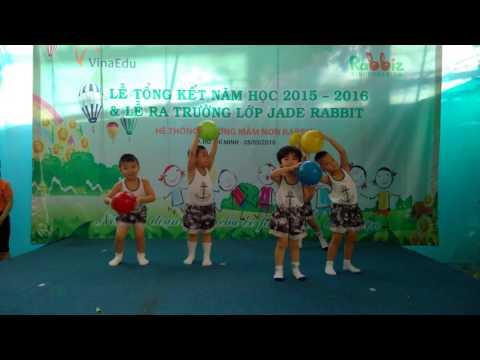 Mam Non Rabbit - Aerobic - Ut cung - Le tong ket 2015-2016