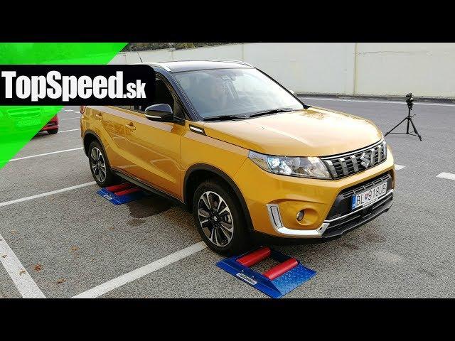 ff0ee561d99 Suzuki Vitara AllGrip 2018 manual - 4x4 test - TOPSPEED.sk - YouTube