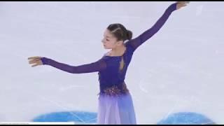 Анна Фролова Юношеские зимние Олимпийские Игры 2020 Произвольная программа 3 место
