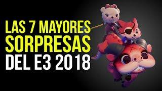Las 7 mayores SORPRESAS del E3 2018