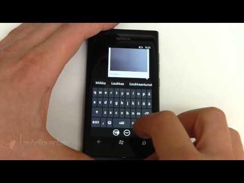Nokia Lumia 800 - Viestit