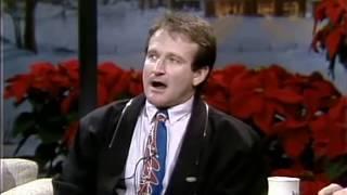 Robin Williams on Carson - Good Morning Vietnam 1987