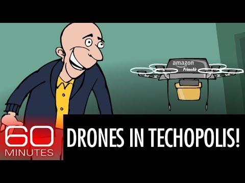 Drones come to Techopolis!