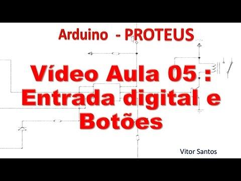 Entrada Digital E DigitalRead - Arduino Minicurso #05