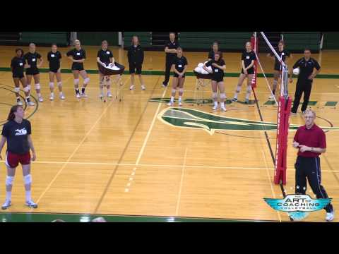 Treinamento técnico do bloqueio no Voleibol
