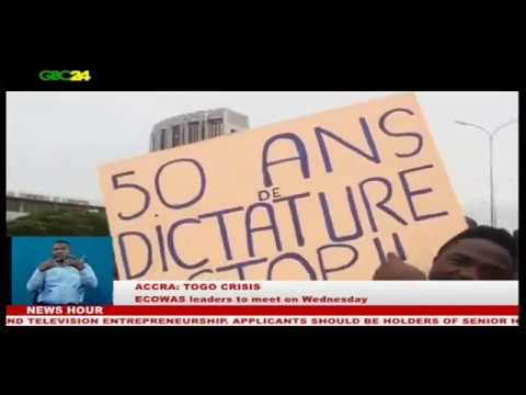 Togo Crisis: ECOWAS leaders to meet in Accra