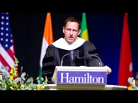 Remarks by Commencement Speaker Peter Thiel