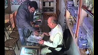 Live Gold Jewellery Robbers Caught on CCTV Camera