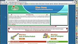 how to pay electricity bills online through mee seva website