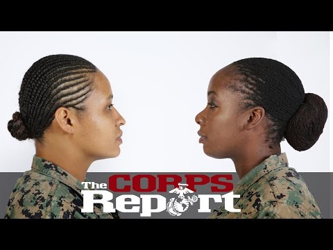 Two New Hairstyles Authorized for Female Marines