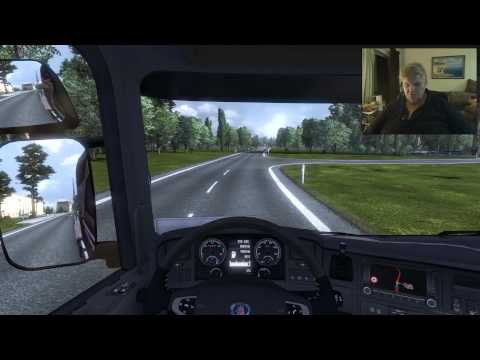 Deaf Software Games - ETS 2 From Proto, Spain to lille, France