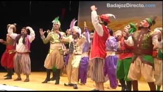 Los Water Closet en la Gran Final del Concurso de Murgas Carnaval de Badajoz 2015