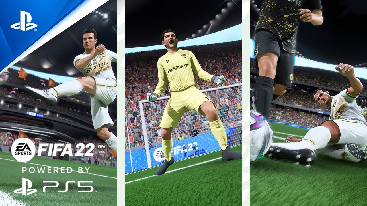 FIFA 22 PS5 features video