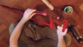 Sargento Casero Para Prensar Madera - Diy Easy To Make, Steel Bar Clamp For Woodworking