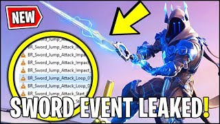 *NEW* Fortnite Sword Event LEAKED!! (Bigger than THANOS LTM) Sword & Castle Sound FX