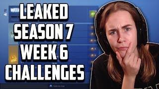 LEAKED Season 7 Week 6 Challenges - Fortnite Battle Royale