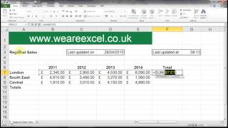 Excel Tips & Tricks - Keyboard shorcuts