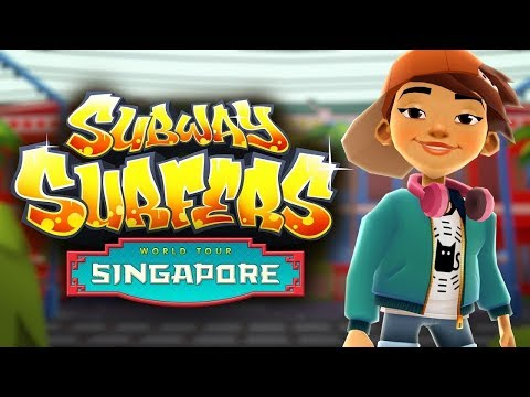 2017 Subway Surfers - Singapore - Game Gameplay