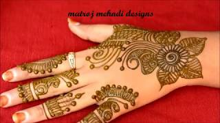 Easy Mehndi Designs For Hands-Simple Arabic Mehndi Designs-Mehndi Designs For Hands