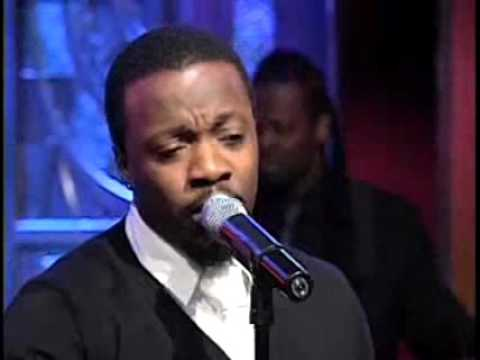 Anthony Hamilton Do You Feel Me live on Regis & Kelly 2007
