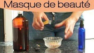 Comment fabriquer un masque hydratant à la levure