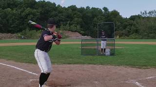 Matt Falk - College Baseball Recruiting Video (Catcher)
