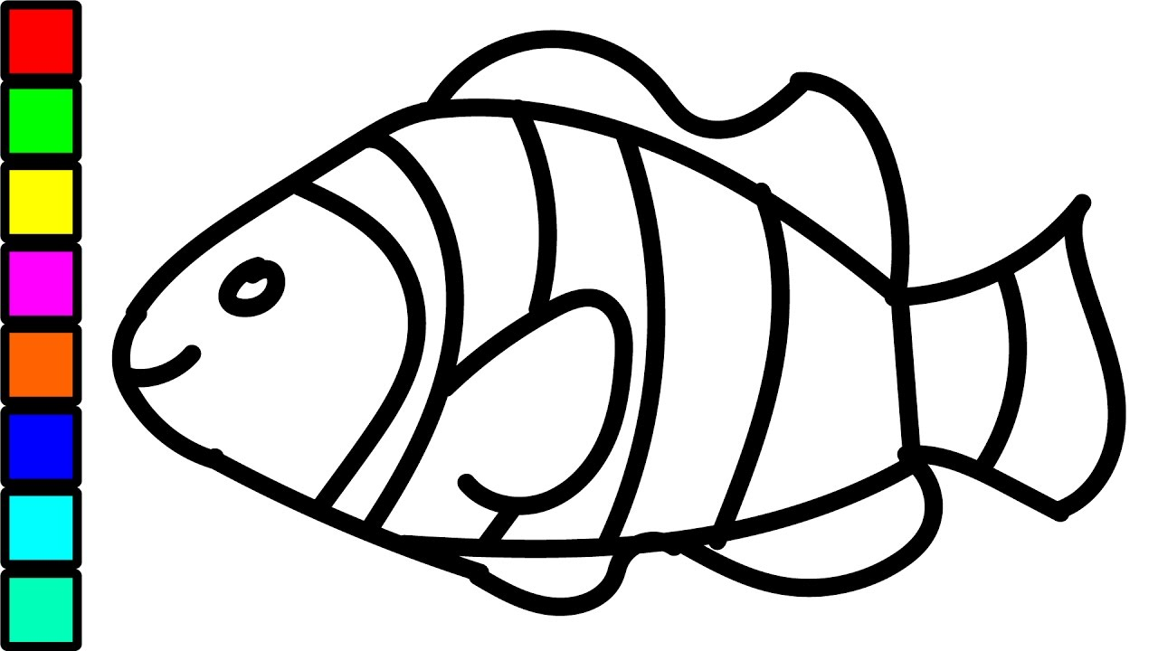 fish coloring pages for kids - photo#26