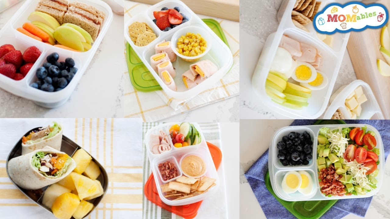 Healthy And Fast School Lunch Ideas 5 Minute Lunches