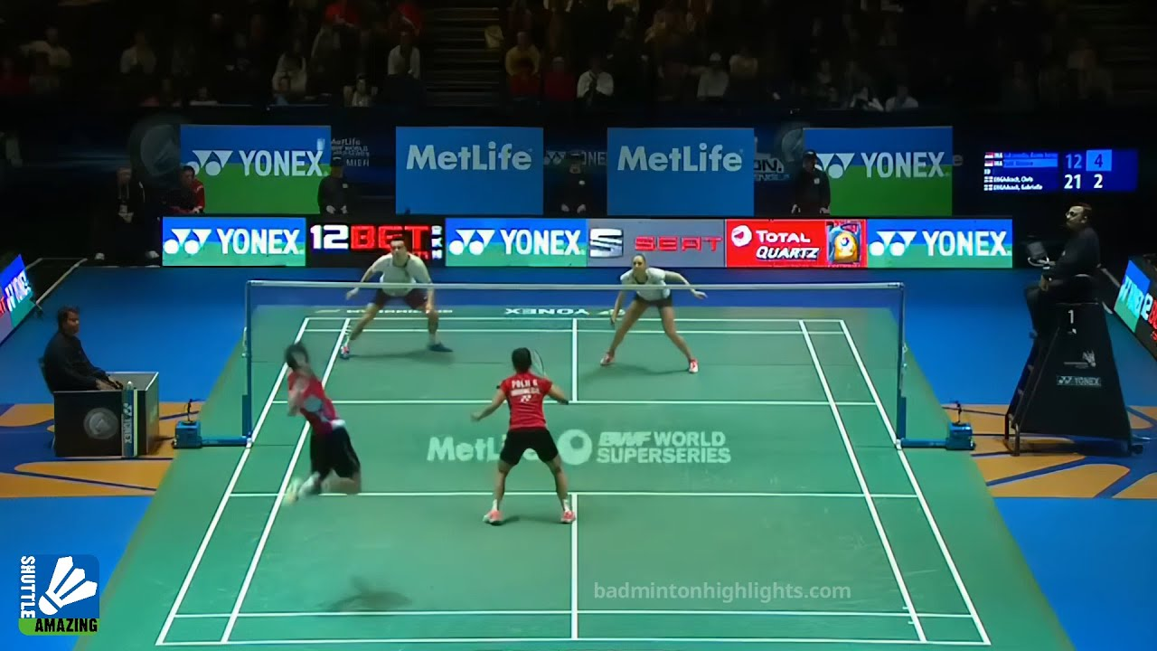 KEVIN Paired With POLII to Against Adcock Couple | Kevin Sanjaya / Greysia Polii vs Adcock / Adcock