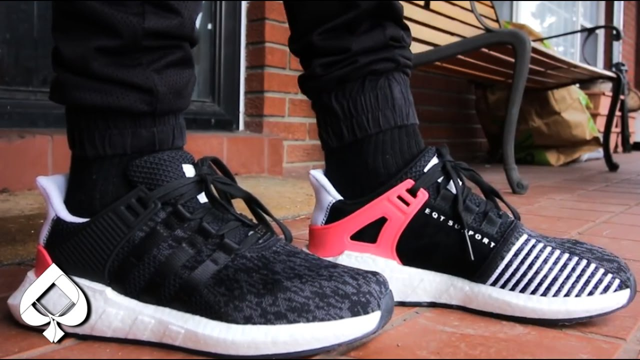 960bc62ed196 Better Than ULTRA BOOST!  Adidas EQT Boost 93 17 On-Feet Review ...