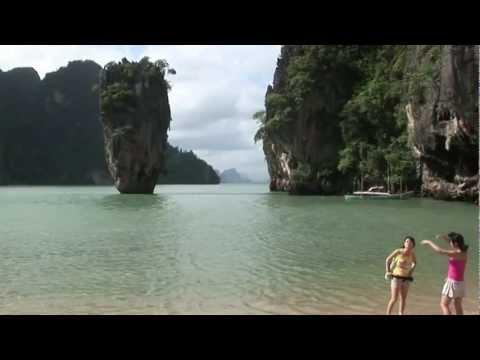 James Bond 007 Island Phuket Thailand Ko Khao Phing Kan Andaman Sea location Man with the Golden Gun