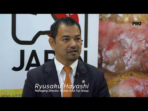 Ryusaku Hayashi, Managing Director, Middle East Fuji Group