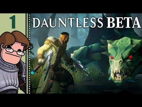 Let's Play Dauntless Co-op Part 1 - Chain Blades!