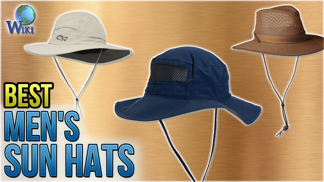 a052831d 10 Best Men's Sun Hats 2018 - YouTube
